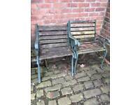 Pair of single garden seats ! £20 each !