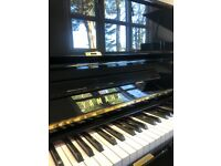 Yamaha U1 G 1972 Black Modern Upright Piano Pro Level FREE DELIVERY 5Y WTY