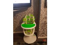 Cosatto 3sixty happi apples highchair