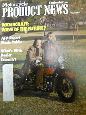 Motorcycle Product News, Sept 1986, Watercraft: Wave of the future?,  Blue box 2