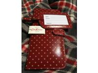 Cath Kidston luggage tag & travel document case