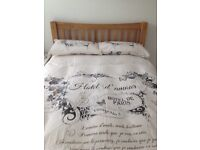 Beautiful Double Bed WITH MATRESS