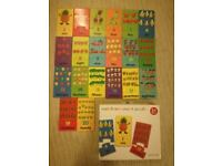 matching puzzle fruit and veg match and count game