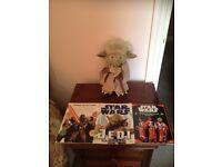 Star Wars Items (including plush Yoda)