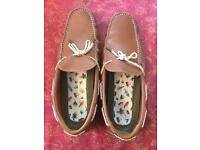 Light brown Ted Baker men's slippers/loafers