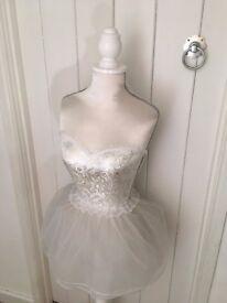 Beautiful White Ballerina Mannequin.