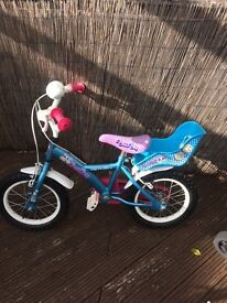 Girls Bike age 3-6 approx