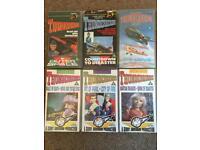 Classic Thunderbirds VHS x6