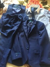Boys next wedding suit 5 piece new