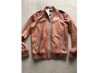 c74dfe22a93e Adidas Vespa Tan Leather Jacket