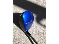Cobra King F7 golf fairway wood blue
