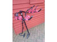 Bike carrier for 3 bikes, fits towbar