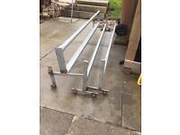 Mk6 swb transit 3 peace roller roof bars