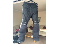Triumph Sympatex Men's Motorcycle Trousers.