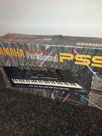 Yamaha PortaSound PSS-51 Keyboard Track Sequencer Drum Pads