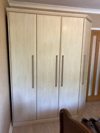 Wardrobe - flat packed ready to collect