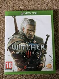 Xbox one game The Witcher 3