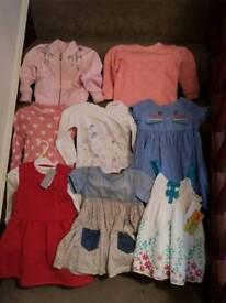 Bundle girls clothes 18-24 months,1-2 year.
