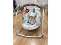 Ingenuity Portable Swing - Cozy Kingdom Comfort Harmony