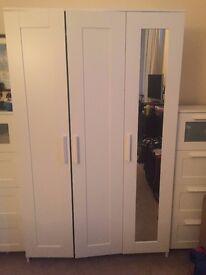 Ikea Brimnes 3-Door Wardrobe