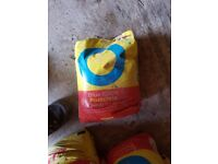 7 bags of postcrete