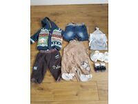 Baby boy 3-6 bundle of clothes