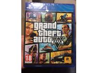 GTA 5 for PS4 (Brand New, Sealed, FREE POSTAGE)
