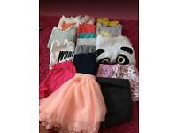 Girls bundle clothes 4-5