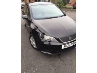2012 Black Seat Ibiza 1.2 TDI Ecomotive 5D £0 Tax 80 MPG