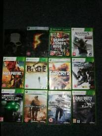 Games for xbox 360, ps2, wii, movies