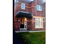 Toberhewny Hall,Short term let ,unfurnished ,3 bed semi ,in good order throught out