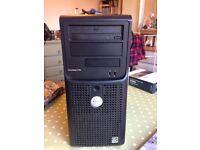 Dell Poweredge T105 Quad core AMD Opteron 1.35 GHZ *GB RAM 160GB HDD 80GB HDD