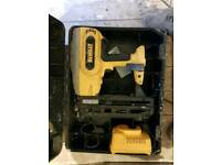 18vdewalt 2nd fix pin gun