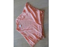Oasis Sequinned Cardigan in Pink. Eveningwear suitable