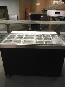 SALAD COLD TABLE MEGA TOP