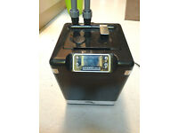 Fluval G6 (Black) Digital External Filter for Tropical Coldwater Marine Aquariums Media Included