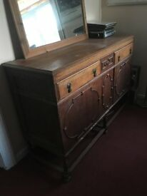 Beautiful vintage dresser - real wood