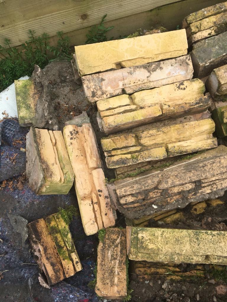 Over 40 decorative garden stone bricks   in York, North Yorkshire ...