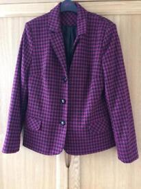 Ladies Sainsbury Tu Jacket Size 12/14