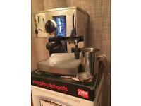 Morphy Richards espresso coffee maker