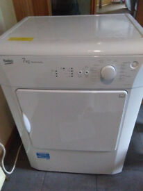 7KG BekoTumble Dryer, Spares or Repair