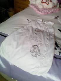 Disney sleeping bag 6-12 mths