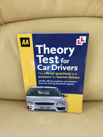 Book - Theory test for car drivers
