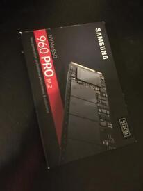 Samsung 960 PRO. Solid-state drive 512 GB. M.2. SSD