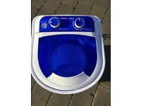 SWISS LUX PORTABLE 230V WASHING MACHINE WITH SPIN DRYER FUNCTION