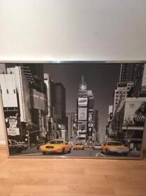 Large framed canvas pictures