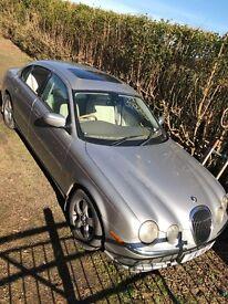 Jaguar s type 1999 for spares or repair