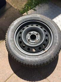 Wheel rim with Michelin tyre 195/60r 15