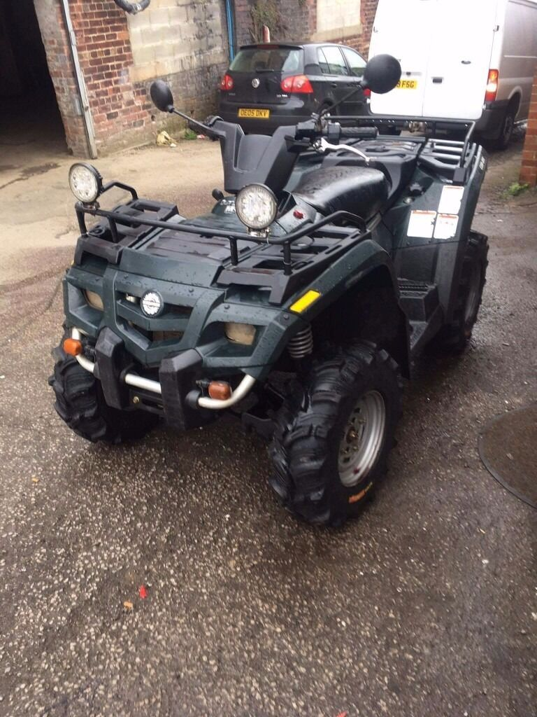 2005 can-am bombardier outlander 400cc plg road registered