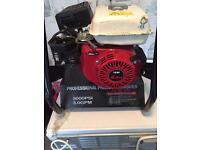 2 X professional petrol power washers